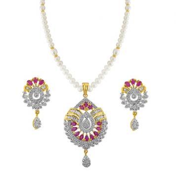 Sri Jagdamba Pearls Sabrina Pearl Set