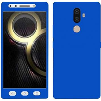 Lenovo K8 Note 360 Degree Ipaky Blue - Full Body Protection (Front+ Back + Temper Glass) Case Cover by GetSetStyle