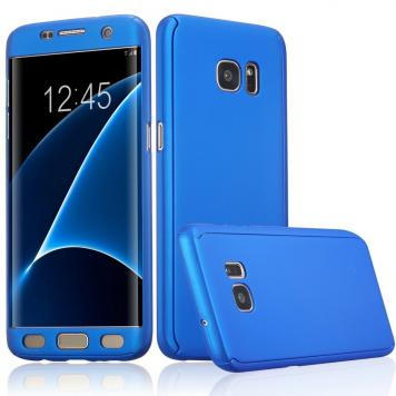 Samsung Galaxy J7 PRIME 360 Degree Ipaky Blue - Full Body Protection (Front+ Back + Temper Glass) Case Cover by GetSetStyle