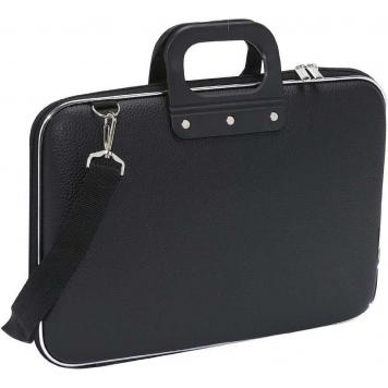 Latest & Trendy Laptop Messenger Bags by American Traders - Black