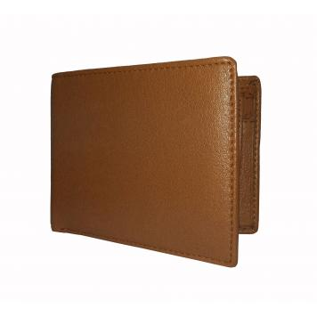 Cider Gold Textured Mens Premium PU Leather Wallet By GetSetStyle