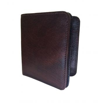 Brown Buffalo Premium Mens Class Genuine Leather Wallet By GetSetStyle