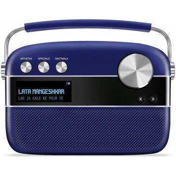 Saregama Carvaan Premium Portable Digital Music Player (Royal Blue) - GetSetStyle