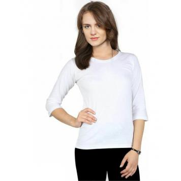 Ovela Casual & Stylish Top (White) by Asli Fashion