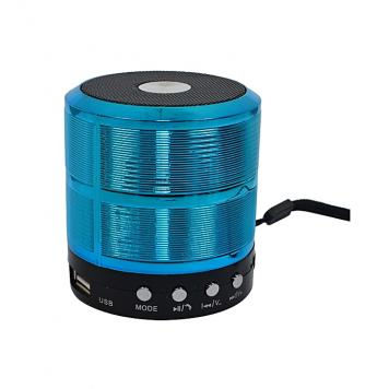Ws 887 Bluetooth Stereo Speaker with Calling/FM Support/Aux / USB/SD Card Support - Green by GSS International