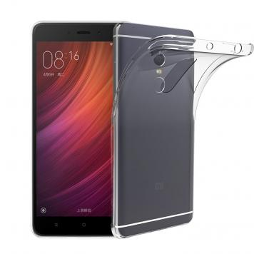 Redmi Note 4A Transparent Flexible Soft High Quality TPU Slim Back Case Cover For by GetSetStyle